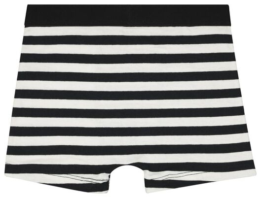 3er-Pack Kinder-Boxershorts, elastische Baumwolle schwarz schwarz - 1000022754 - HEMA