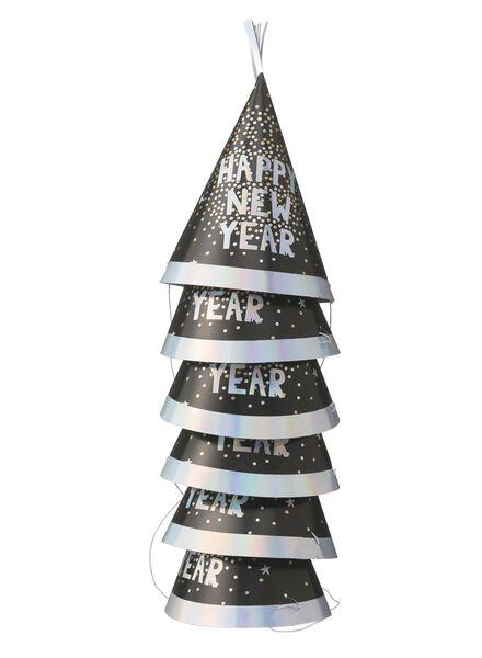 6 chapeaux de fête pour le Nouvel An - 25250010 - HEMA