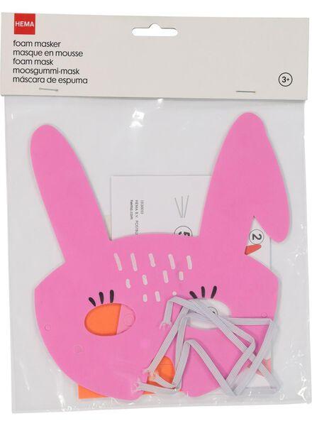 foam mask bunny - 15130055 - hema
