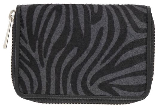 HEMA Portemonnaie, 7.5 X 11 Cm, Zebra