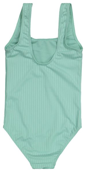 children's swimsuit ribbed mint green mint green - 1000022714 - hema