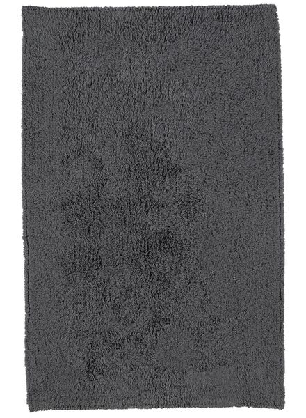 bath mat ultra soft 80 x 50 - anthracite - 5260020 - hema