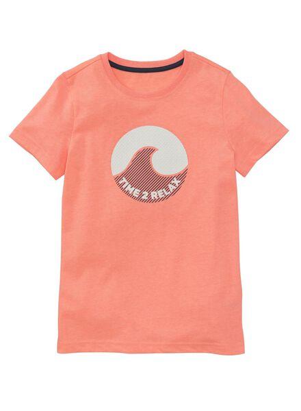 children's T-shirt coral pink coral pink - 1000006675 - hema