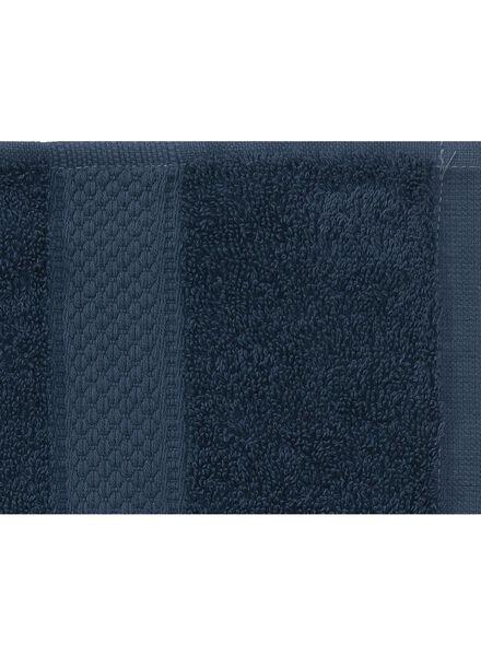 serviette de bain-60x110 cm-qualité épaisse-denim uni denim serviette 60 x 110 - 5240181 - HEMA