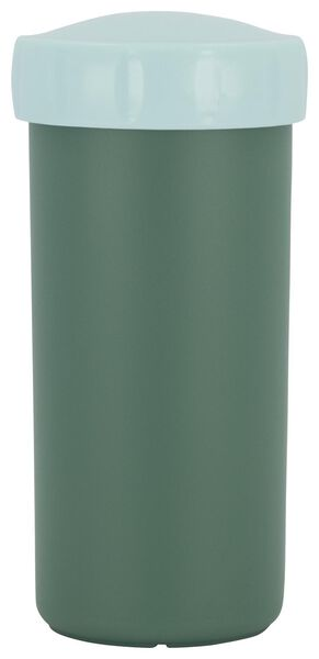 drinking cup with lid 300ml green - 80690033 - hema