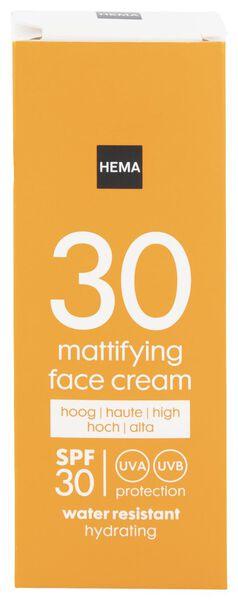 face sun cream mattifying SPF 30 - 50 ml - 11610178 - HEMA