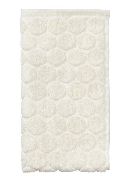 guest towel - 30 x 55 cm - heavy quality - ecru dot ecru guest towel - 5200060 - hema