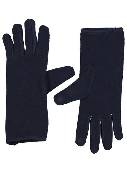HEMA Dameshandschoenen Touchscreen Blauw (blauw)