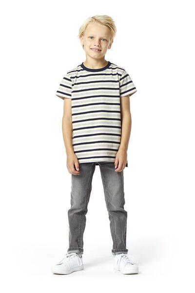 Kinder-Jeans, Regular Fit grau grau - 1000020359 - HEMA