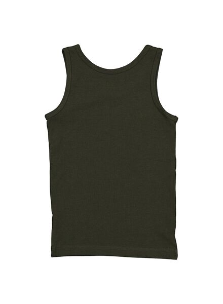 2-pack children's vests grey melange grey melange - 1000014606 - hema