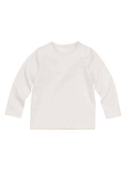 Baby-T-Shirt – Bambus eierschalenfarben eierschalenfarben - 1000011959 - HEMA