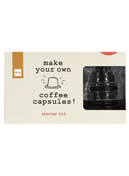 coffee capsule maker starter set - 17150027 - hema