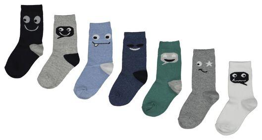 7er-Pack Kinder-Socken bunt bunt - 1000018424 - HEMA