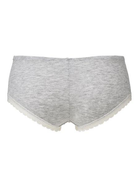 hipster panties grey melange grey melange - 1000006599 - hema