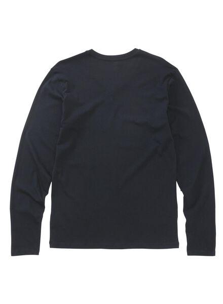 pyjama homme bleu foncé L - 23600152 - HEMA