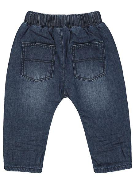 baby jog denim trousers dark denim dark denim - 1000017153 - hema