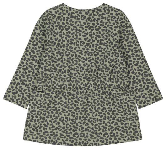 Baby-Kleid, Tierfleckenmuster grün grün - 1000022193 - HEMA