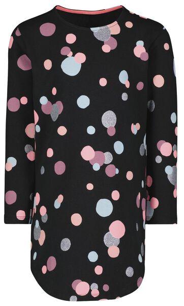 Kinder-Kleid, Punkte, Glitter schwarz schwarz - 1000025369 - HEMA