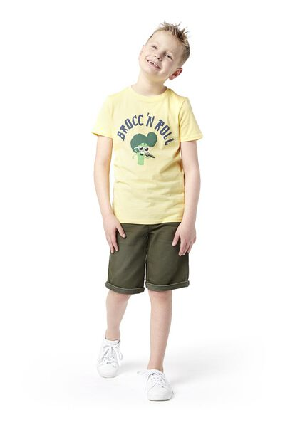 children's shorts comfy fit army green army green - 1000018957 - hema