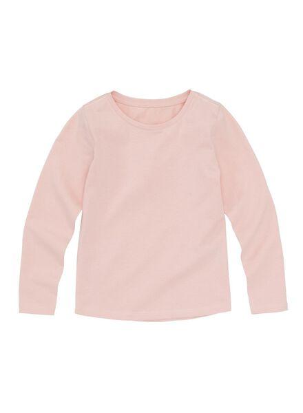 Kinder-Basic-Shirt rosa rosa - 1000013505 - HEMA
