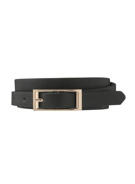 Damen-Gürtel schwarz schwarz - 1000009627 - HEMA