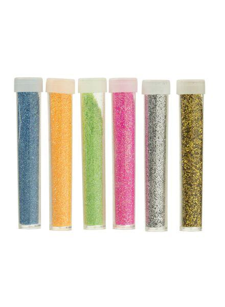 6-pack glitter shakers - 15990313 - hema