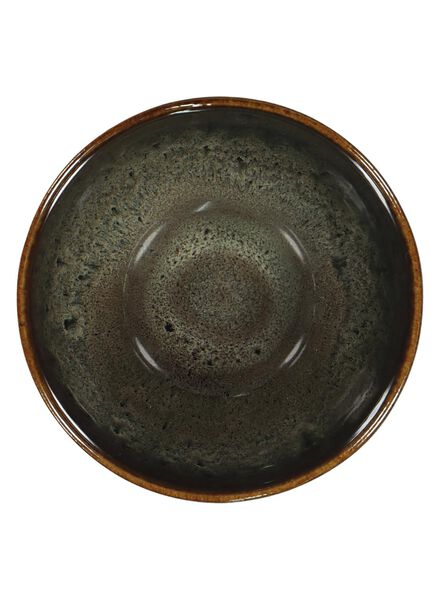 plat à salade - 10 cm - Porto - émail réactif - taupe - 9602054 - HEMA