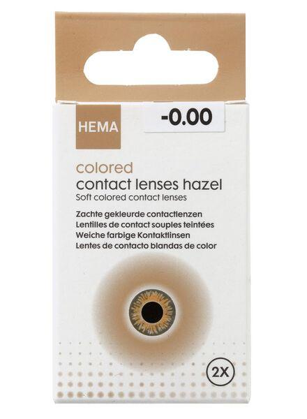 HEMA Coloured Contact Lenses - Brown (marron)