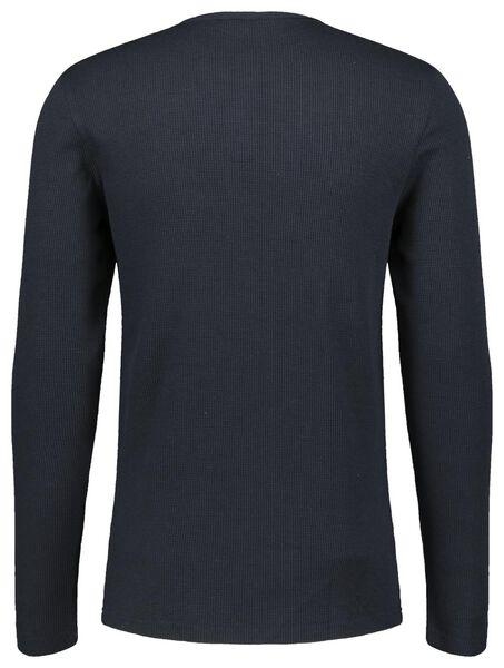 pyjama pour homme dans un emballage cadeau bleu foncé bleu foncé - 1000021210 - HEMA