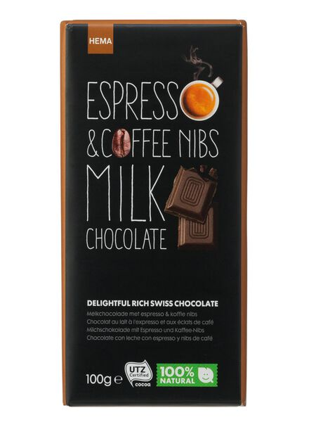 HEMA Chocolat Au Lait Aux Éclats D'expresso Et De Café