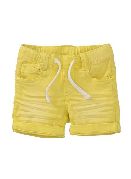 baby jog denim trousers yellow yellow - 1000007653 - hema