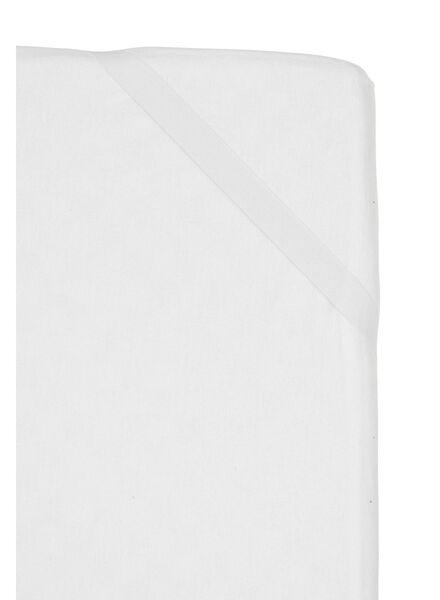 drap-housse molleton-dessus imperméabilisé blanc - 1000013969 - HEMA