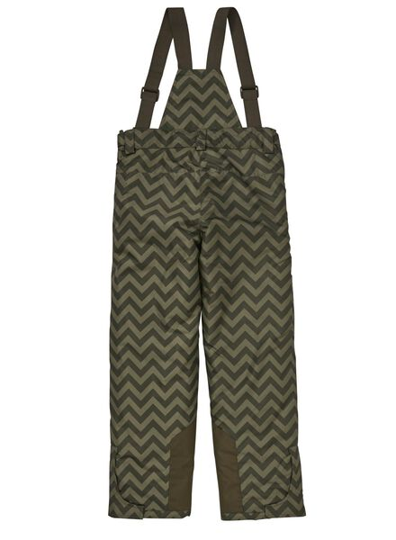 pantalon de ski enfant vert armée vert armée - 1000010772 - HEMA