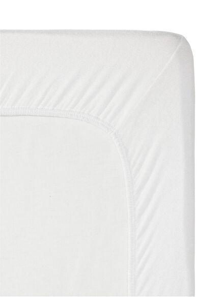 HEMA Spannbettlaken - Flanell Weiß