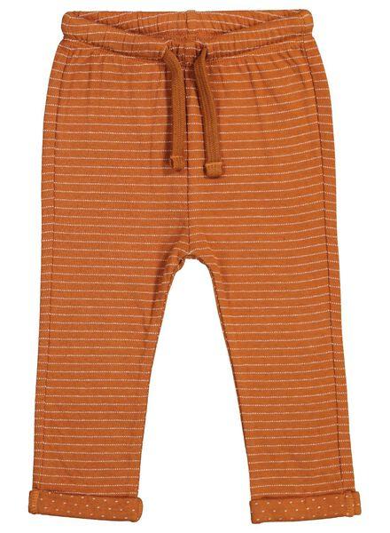 baby sweatpants brown brown - 1000015559 - hema