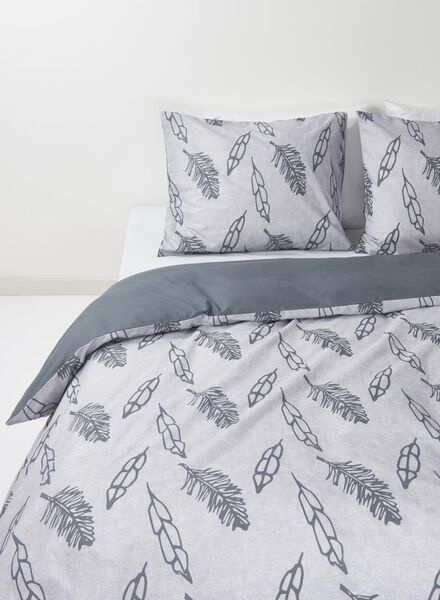 duvet cover - soft cotton - 140 x 200 cm - blue sea - 5700083 - hema