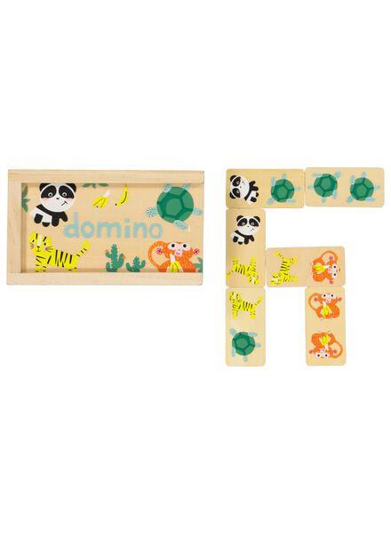 Holz-Dominospiel – Tiere - 15190045 - HEMA