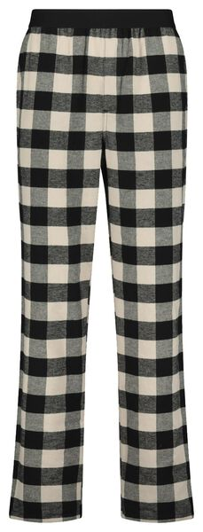 pyjama homme à carreaux dans un emballage cadeau gris gris - 1000021209 - HEMA