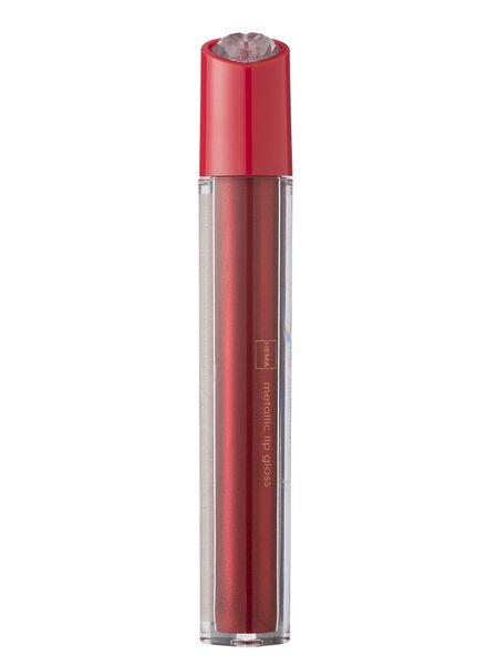 lipgloss metallic red - 11230004 - HEMA