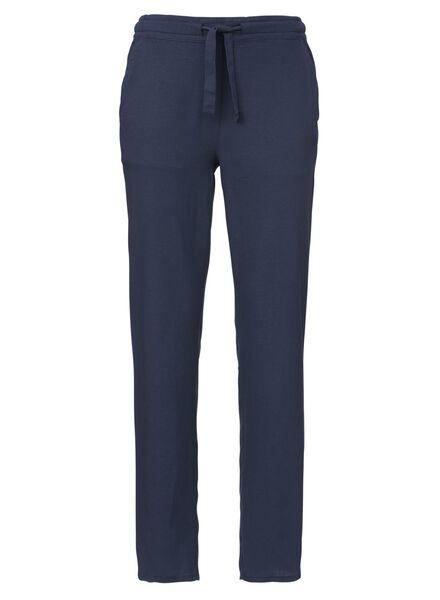Damen-Hose dunkelblau dunkelblau - 1000013241 - HEMA