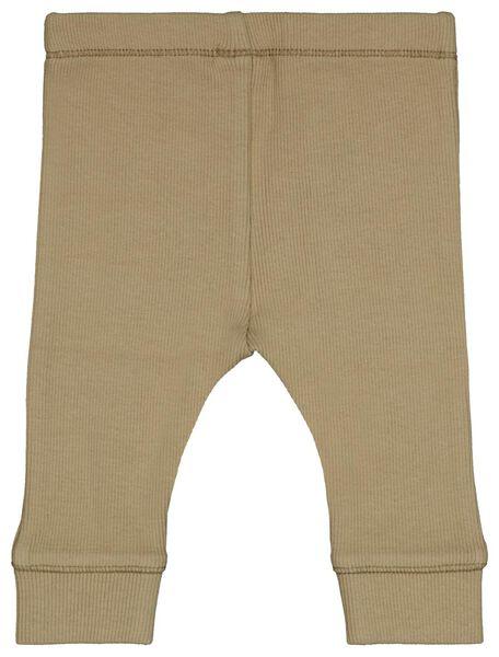 ensemble nouveau-né t-shirt et legging - coton stretch beige beige - 1000024480 - HEMA