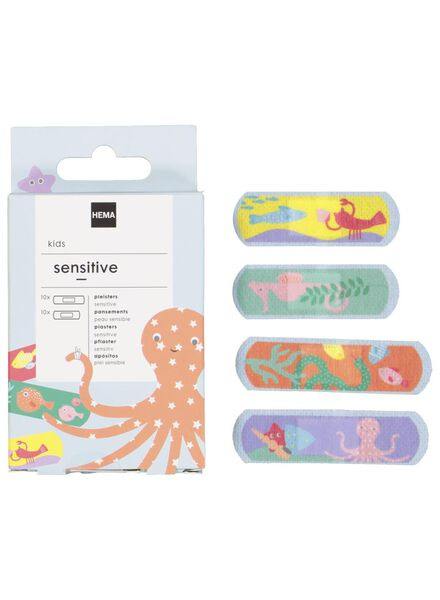 sensitive children's plasters - 11901950 - hema