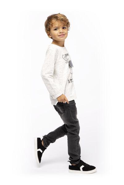 t-shirt enfant blanc cassé blanc cassé - 1000017347 - HEMA