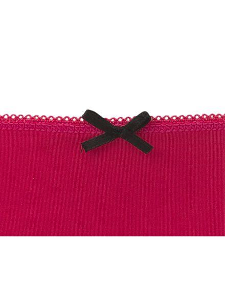 women's thong red red - 1000006569 - hema