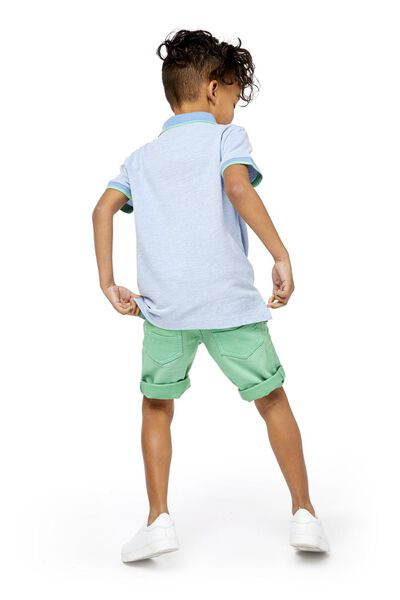 children's polo shirt blue blue - 1000018900 - hema