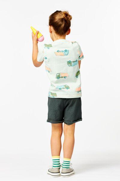 Kinder-Shorts dunkelgrün dunkelgrün - 1000023896 - HEMA