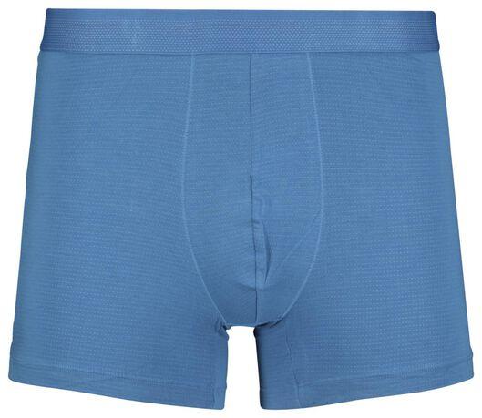 2-pack men's boxer shorts long with bamboo green green - 1000018774 - hema
