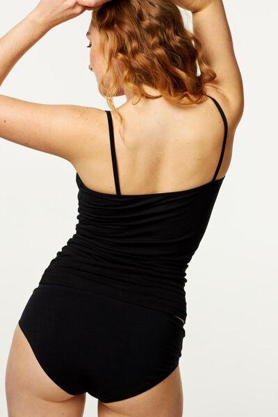 Hemd, Damen schwarz schwarz - 1000002181 - HEMA