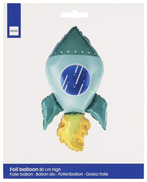 Folienballon Rakete – 80 cm - 14210148 - HEMA
