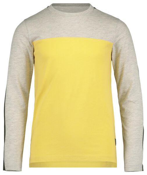 children's T-shirt yellow yellow - 1000017736 - hema